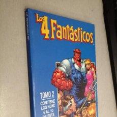 Cómics: LOS 4 FANTÁSTICOS VOL. 4 TOMO 2: RETAPADO CON LOS NÚMEROS 6 A 10 / MARVEL - FORUM. Lote 278396863