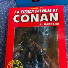 Cómics: FORUM ESPADA SALVAJE DE CONAN SERIE ROJA TOMO 41 MUY BUEN ESTADO. Lote 278405633