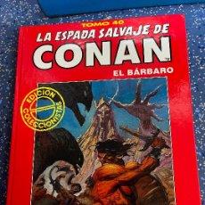 Cómics: FORUM ESPADA SALVAJE DE CONAN SERIE ROJA TOMO 40 MUY BUEN ESTADO. Lote 278405688