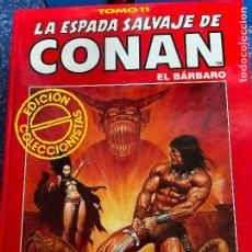 Cómics: FORUM ESPADA SALVAJE DE CONAN SERIE ROJA TOMO 11 MUY BUEN ESTADO. Lote 278405898