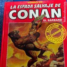 Cómics: FORUM ESPADA SALVAJE DE CONAN SERIE ROJA TOMO 10 MUY BUEN ESTADO. Lote 278405923