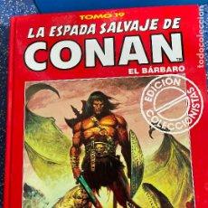 Cómics: FORUM ESPADA SALVAJE DE CONAN SERIE ROJA TOMO 19 MUY BUEN ESTADO. Lote 278405983