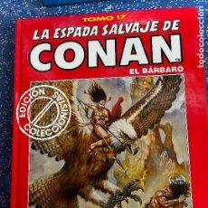 Cómics: FORUM ESPADA SALVAJE DE CONAN SERIE ROJA TOMO 17 MUY BUEN ESTADO. Lote 278406028
