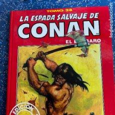 Cómics: FORUM ESPADA SALVAJE DE CONAN SERIE ROJA TOMO 28 MUY BUEN ESTADO. Lote 278406083