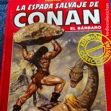 Cómics: FORUM ESPADA SALVAJE DE CONAN SERIE ROJA TOMO 5 MUY BUEN ESTADO. Lote 278406203