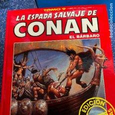 Cómics: FORUM ESPADA SALVAJE DE CONAN SERIE ROJA TOMO 9 MUY BUEN ESTADO. Lote 278406288