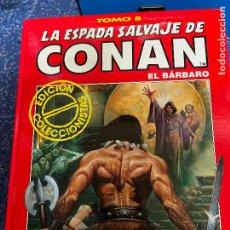 Cómics: FORUM ESPADA SALVAJE DE CONAN SERIE ROJA TOMO 8 MUY BUEN ESTADO. Lote 278406323