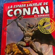 Cómics: FORUM ESPADA SALVAJE DE CONAN SERIE ROJA TOMO 7 MUY BUEN ESTADO. Lote 278406358