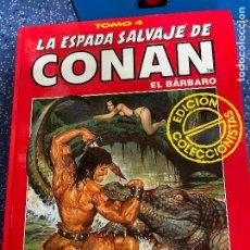 Cómics: FORUM ESPADA SALVAJE DE CONAN SERIE ROJA TOMO 4 MUY BUEN ESTADO. Lote 278406398