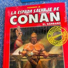 Cómics: FORUM ESPADA SALVAJE DE CONAN SERIE ROJA TOMO 2 MUY BUEN ESTADO. Lote 278406503