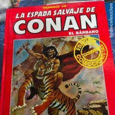 Cómics: FORUM ESPADA SALVAJE DE CONAN SERIE ROJA TOMO 14 MUY BUEN ESTADO. Lote 278406873