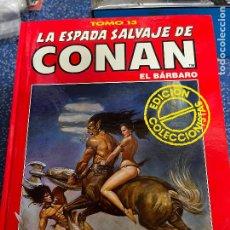 Cómics: FORUM ESPADA SALVAJE DE CONAN SERIE ROJA TOMO 13 MUY BUEN ESTADO. Lote 278406983