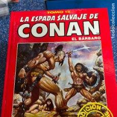 Cómics: FORUM ESPADA SALVAJE DE CONAN SERIE ROJA TOMO 12 MUY BUEN ESTADO. Lote 278407028