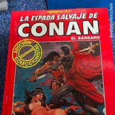 Cómics: FORUM ESPADA SALVAJE DE CONAN SERIE ROJA TOMO 21 MUY BUEN ESTADO. Lote 278407078