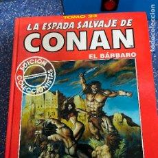 Cómics: FORUM ESPADA SALVAJE DE CONAN SERIE ROJA TOMO 23 MUY BUEN ESTADO. Lote 278407178