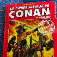 Cómics: FORUM ESPADA SALVAJE DE CONAN SERIE ROJA TOMO 16 MUY BUEN ESTADO. Lote 278407258