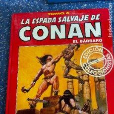 Cómics: FORUM ESPADA SALVAJE DE CONAN SERIE ROJA TOMO 6 MUY BUEN ESTADO. Lote 278407298