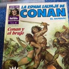 Cómics: FORUM SUPER CONAN SEGUNDA EDICION TOMO 2 BUEN ESTADO. Lote 278407583