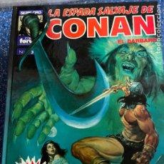 Cómics: FORUM SUPER CONAN SEGUNDA EDICION TOMO 3 BUEN ESTADO. Lote 278407648