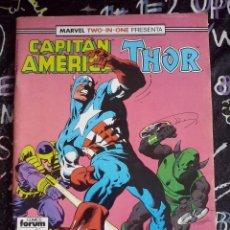 Cómics: FORUM - CAPITAN AMERICA / THOR VOL.1 NUM. 65. Lote 278454498
