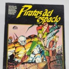 Cómics: PIRATAS DEL ESPACIO - BILL MANTLO - JACKSON GUICE / NOVELAS GRAFICAS MARVEL / FORUM. Lote 278753503