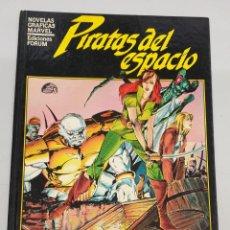 Cómics: PIRATAS DEL ESPACIO - BILL MANTLO - JACKSON GUICE / NOVELAS GRAFICAS MARVEL / FORUM. Lote 278753543