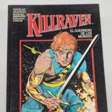 Cómics: KILLRAVEN / DON MCGREGOR - P. CRAIG RUSSELL / NOVELAS GRAFICAS MARVEL / FORUM. Lote 278753738
