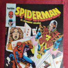 Comics: SPIDERMAN. VOL 1. Nº 88. FORUM. Lote 278766468