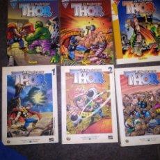 Cómics: 6 COMICS - EL PODEROSO THOR. Lote 278835658