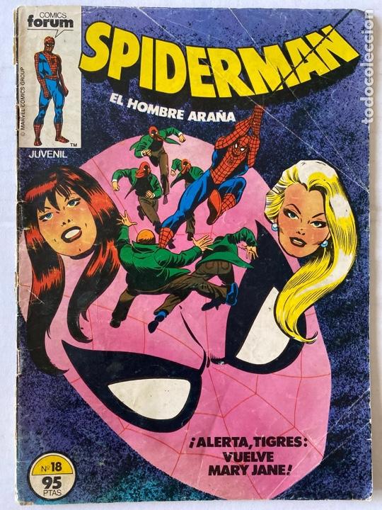SPIDERMAN VOL 1 1ª EDICIÓN FÓRUM #18 (Tebeos y Comics - Forum - Spiderman)