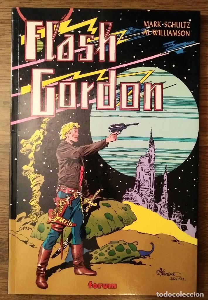 FLASH GORDON REGRESO A MONGO. MARK SCHULTZ Y AL WILLIAMSON. PRESTIGE 1995. FORUM. (Tebeos y Comics - Forum - Prestiges y Tomos)