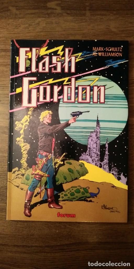 Cómics: FLASH GORDON REGRESO A MONGO. MARK SCHULTZ Y AL WILLIAMSON. PRESTIGE 1995. FORUM. - Foto 3 - 278958498