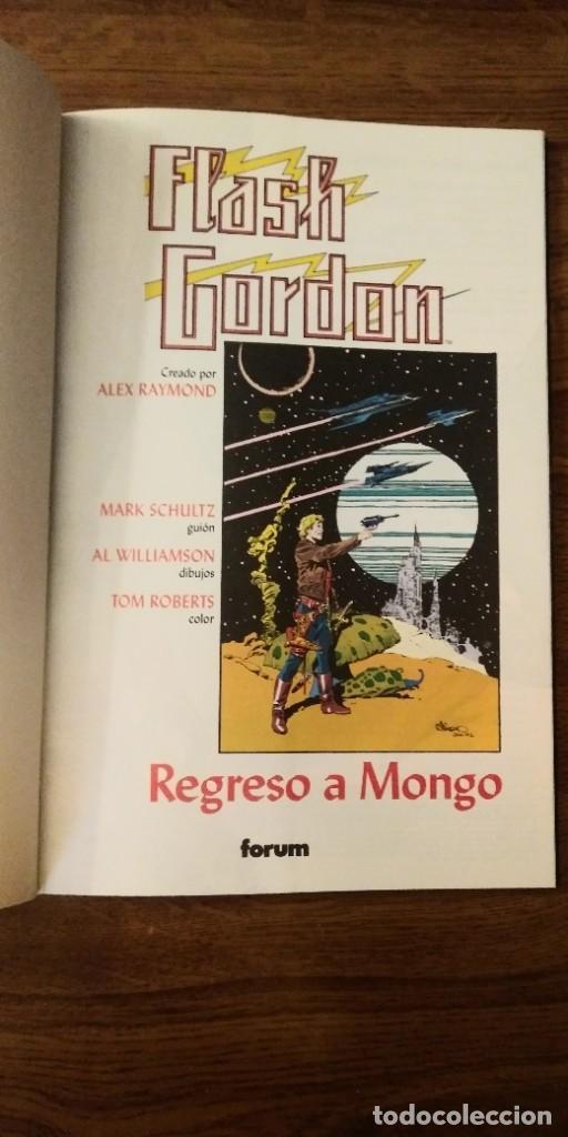 Cómics: FLASH GORDON REGRESO A MONGO. MARK SCHULTZ Y AL WILLIAMSON. PRESTIGE 1995. FORUM. - Foto 4 - 278958498