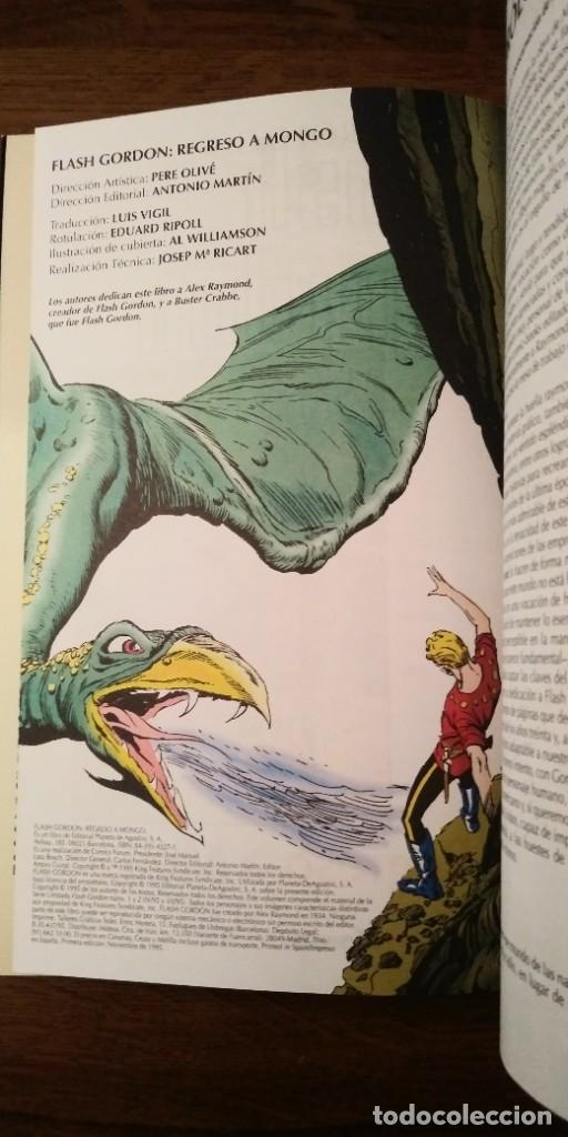 Cómics: FLASH GORDON REGRESO A MONGO. MARK SCHULTZ Y AL WILLIAMSON. PRESTIGE 1995. FORUM. - Foto 5 - 278958498