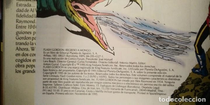 Cómics: FLASH GORDON REGRESO A MONGO. MARK SCHULTZ Y AL WILLIAMSON. PRESTIGE 1995. FORUM. - Foto 6 - 278958498