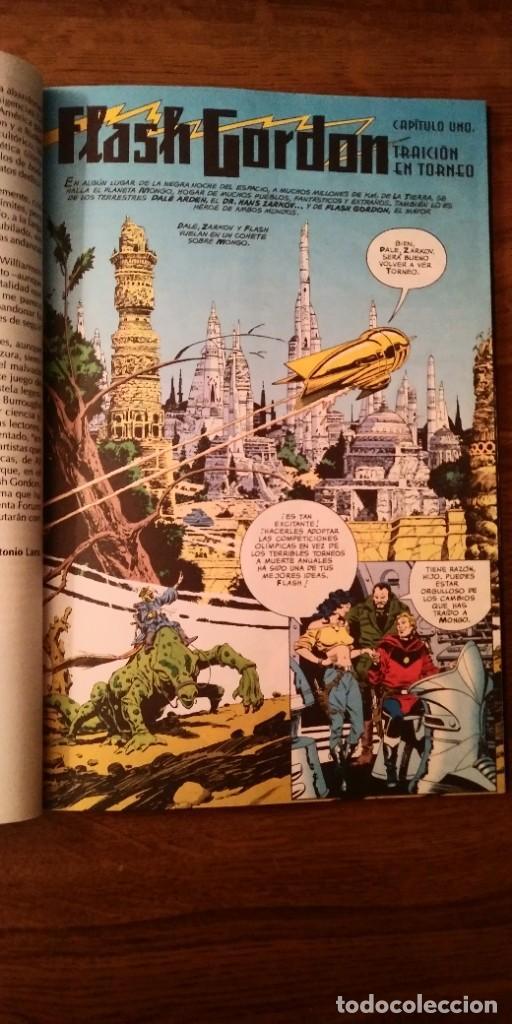 Cómics: FLASH GORDON REGRESO A MONGO. MARK SCHULTZ Y AL WILLIAMSON. PRESTIGE 1995. FORUM. - Foto 8 - 278958498