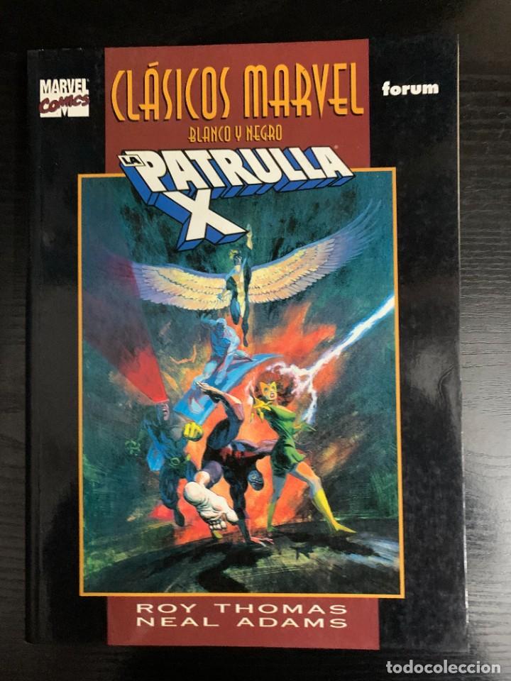 CLÁSICOS MARVEL: LA PATRULLA X, POR ROY THOMAS Y NEAL ADAMS (Tebeos y Comics - Forum - Prestiges y Tomos)