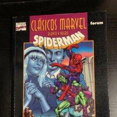 Cómics: CLÁSICOS MARVEL: SPIDERMAN, POR GERRY CONWAY Y JOHN ROMITA. Lote 279328623