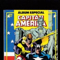 Cómics: ALBUM ESPECIAL CAPITAN AMERICA - DOS NUMEROS ESPECIAL PRIMAVERA Y VERANO 87 - FORUM. Lote 279335383