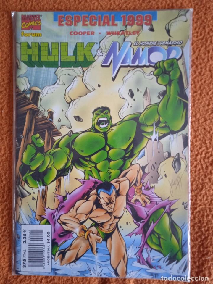 EL INCREÍBLE HULK V3. FORUM 1998. ESPECIAL 1999 HULK & NAMOR (Tebeos y Comics - Forum - Hulk)