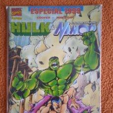 Cómics: EL INCREÍBLE HULK V3. FORUM 1998. ESPECIAL 1999 HULK & NAMOR. Lote 279359533