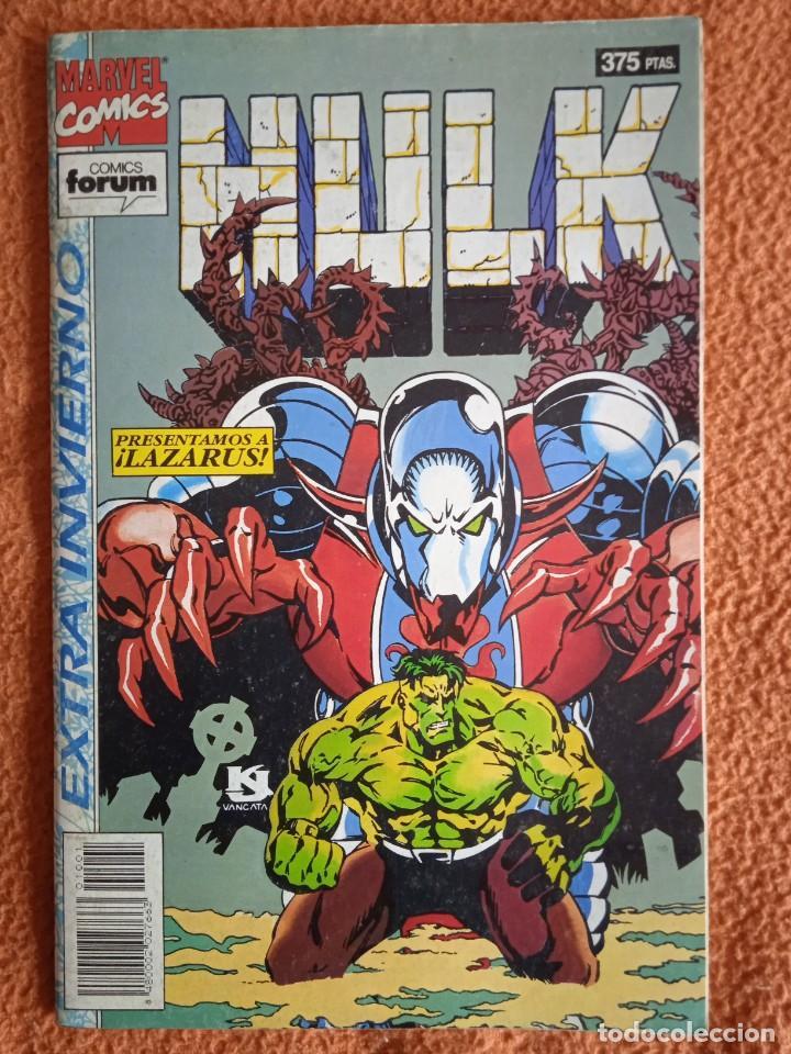 HULK EXTRA DE INVIERNO 1994 PRESENTAMOS A LAZARUS. (Tebeos y Comics - Forum - Hulk)
