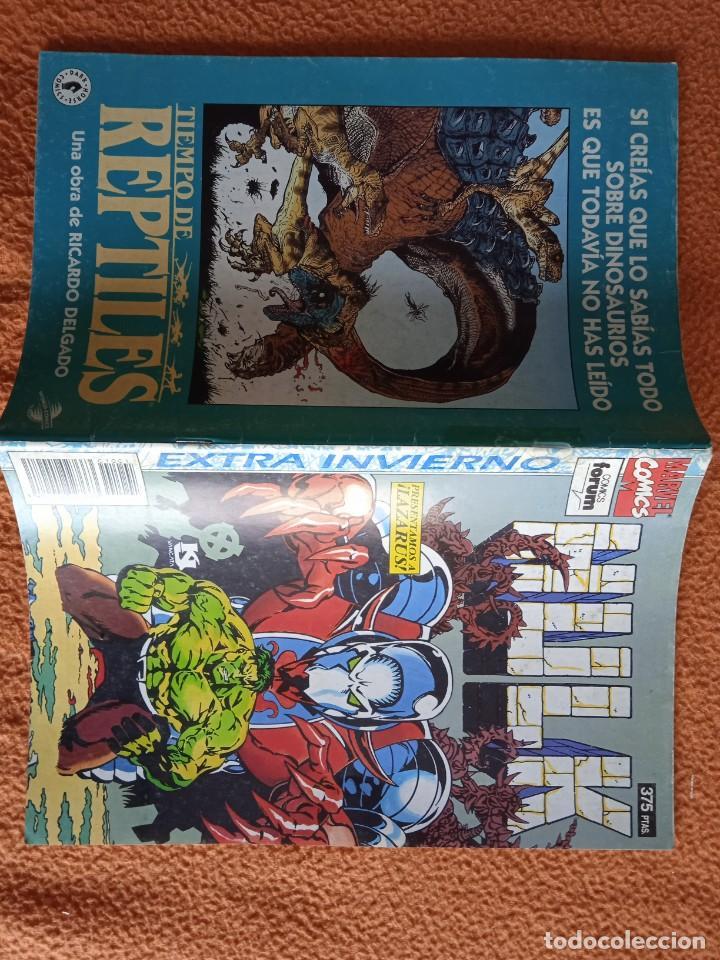 Cómics: HULK extra de invierno 1994 presentamos a Lazarus. - Foto 2 - 279360003