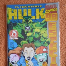 Cómics: EL INCREÍBLE HULK V3. FORUM 1998. ESPECIAL 98. Lote 279360638