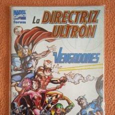 Cómics: ESPECIAL VENGADORES LA DIRECTRIZ ULTRON FORUM. Lote 279402858