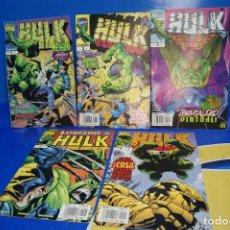 Cómics: COMICS. HULK. MARVEL. FORUM, 1999. Nº 1, 2, 3, 8, 9. BYRNE, BUSCEMA .... Lote 279428303