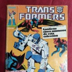 Cómics: TRANSFORMERS. TOMO RETAPADO. DEL Nº 21 AL 25. FORUM. Lote 279479173