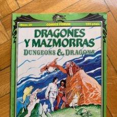 Cómics: DRAGONES Y MAZMORRAS Nº 21 - DUNGEONS & DRAGONS - EXCELENTE ESTADO - D3. Lote 279513393
