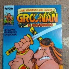 Cómics: COMIC DE FORUM CRONAN EL VAGABUNDO Nº 1. Lote 279514718