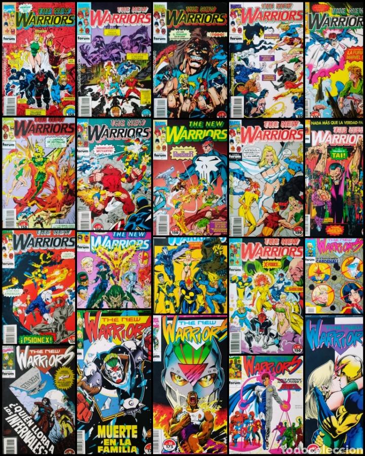 THE NEW WARRIORS (LOTE DE 20) (Tebeos y Comics - Forum - Retapados)